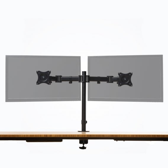 Fully Pole-Mounted Monitor Arm