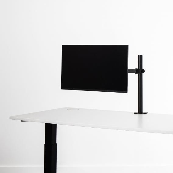 Able single monitor arm black