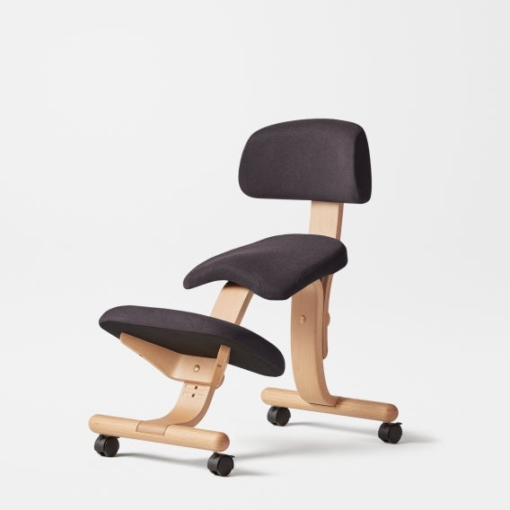 fully balans kneeling chair black