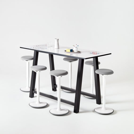 Colbe Whiteboard Breakout Table