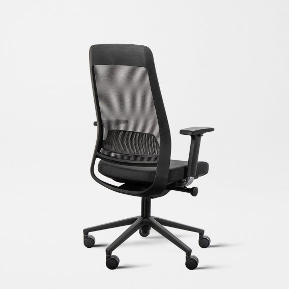 Fully desk chair - black