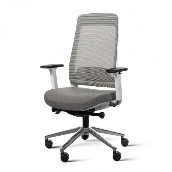 Fully desk chair - white