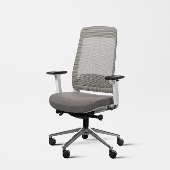 Fully desk chair white