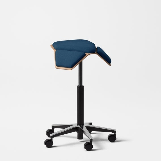 fully iloa saddle chair blue