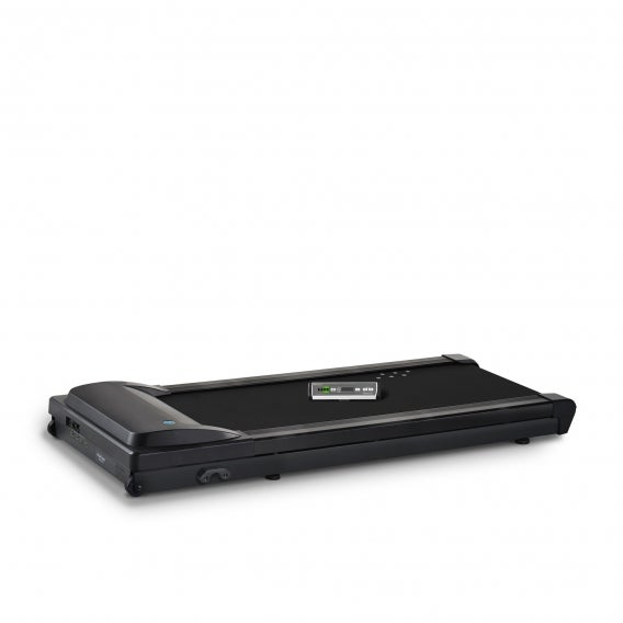 fully lifespan standing desk treadmill tr5000 side view