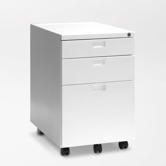 fully sidekick file cabinet white