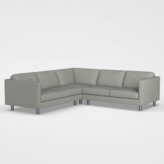 Willamette sectional sofa heather gray