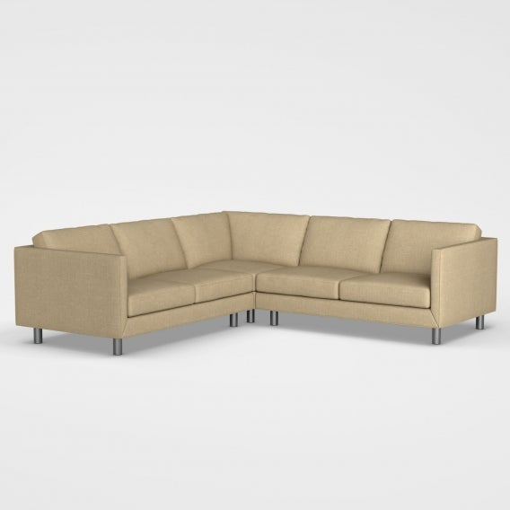 Willamette sectional chair wheat