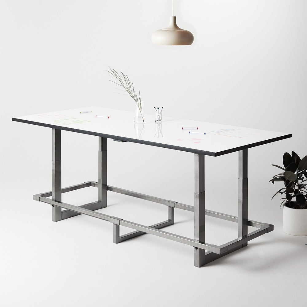 Jarvis Whiteboard Adjustable-Height Conference Table
