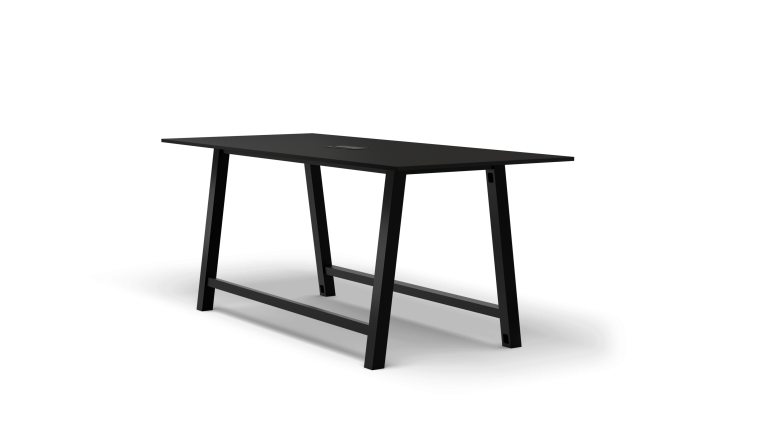 Colbe Laminate Standing-Height Conference Table Popular Setup 2