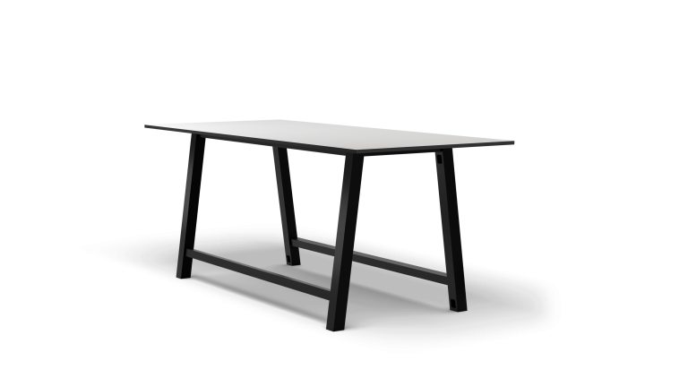 Colbe Whiteboard Standing-Height Conference Table Popular Setup 1