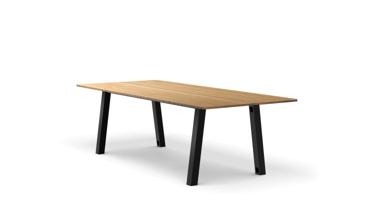 Colbe Bamboo Picnic Table Popular Setup 1