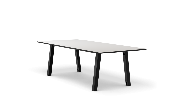 Colbe Whiteboard Picnic Table Popular Setup 1