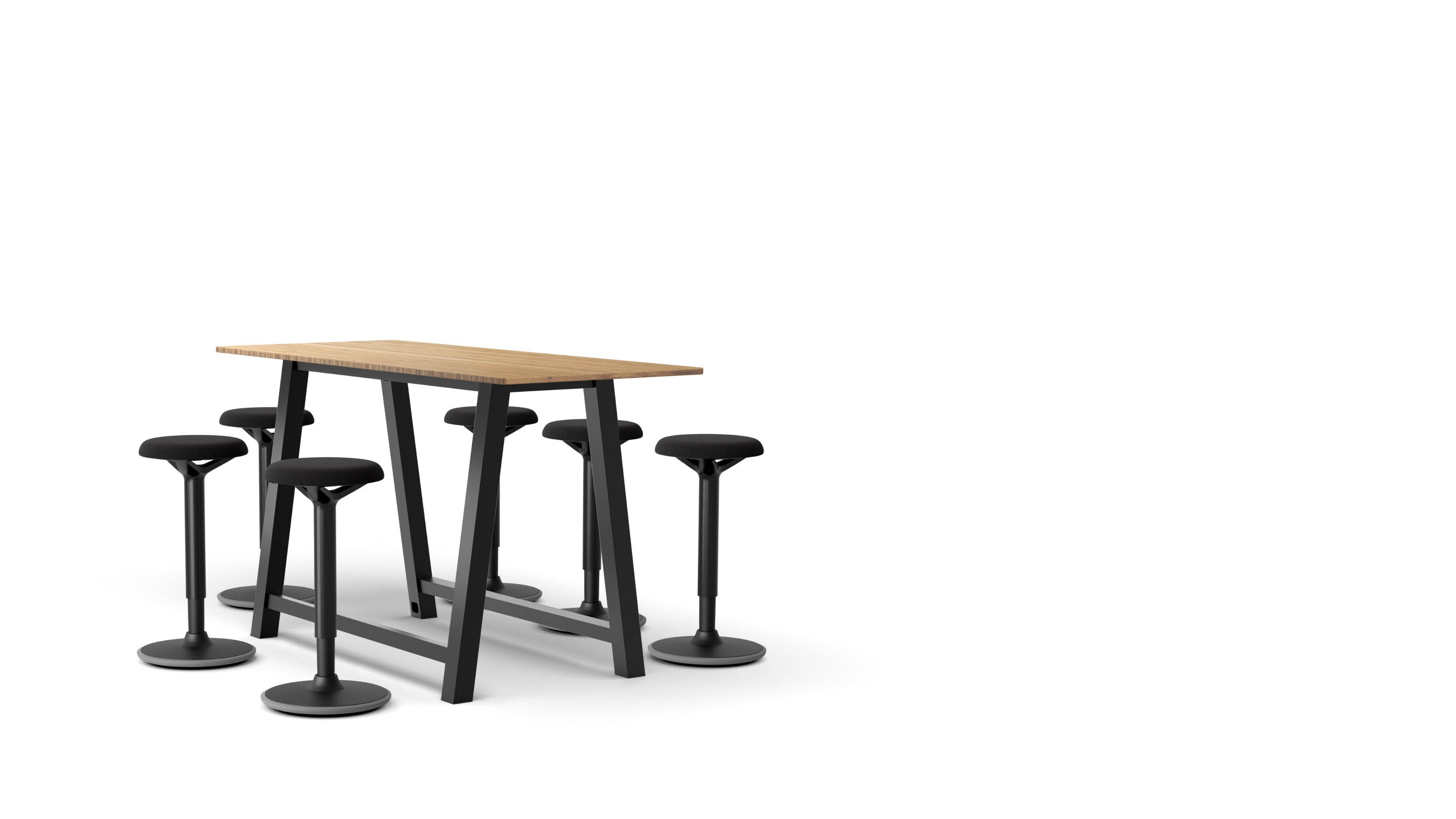 Colbe Bamboo Breakout Table Popular Setup 3