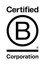 Fully certified B Corp logo