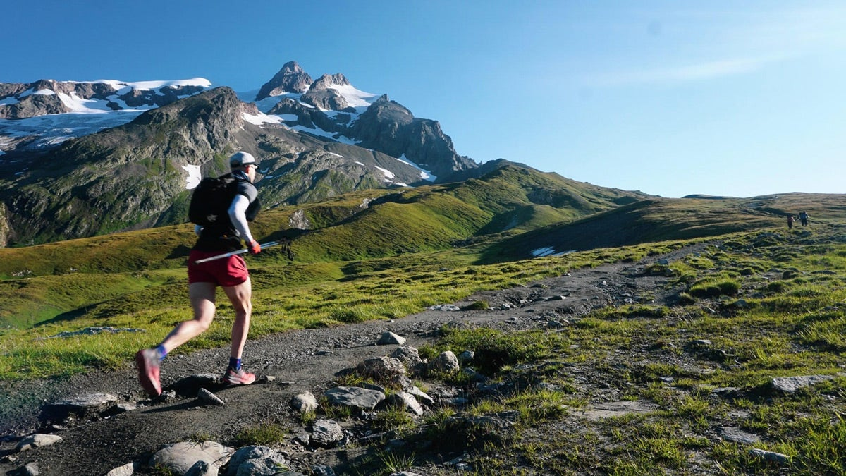 Chad Stashek alpine running in france
