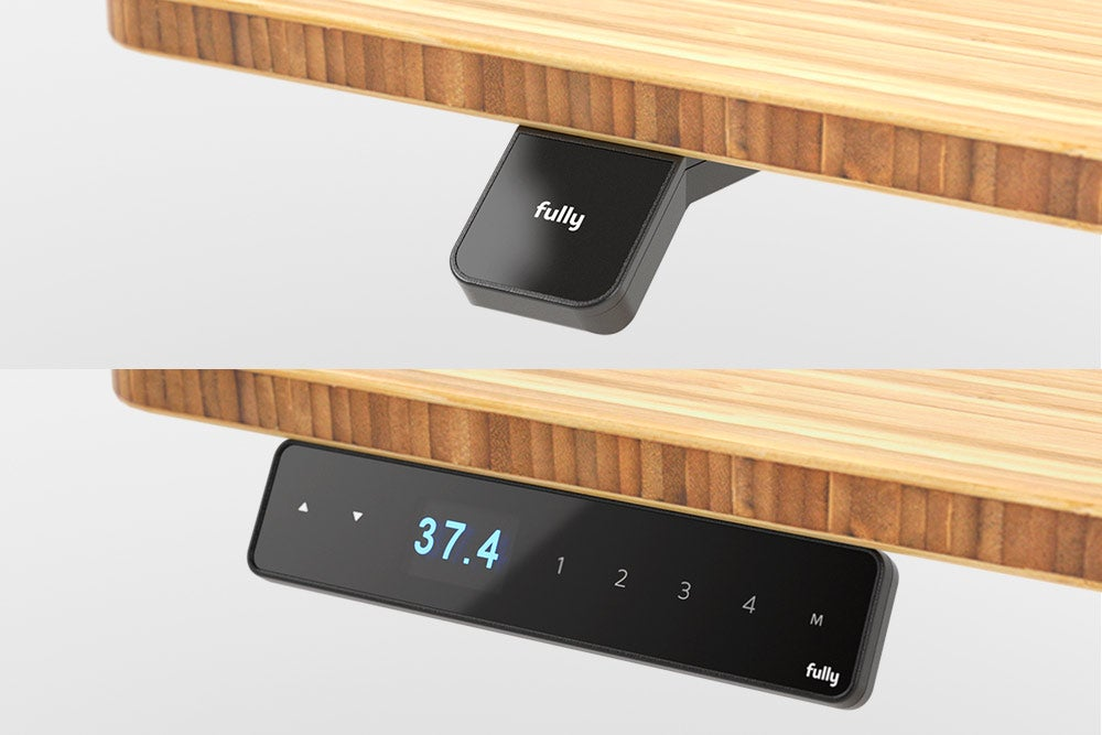 fully jarvis standing desk handset updown and memory programmable