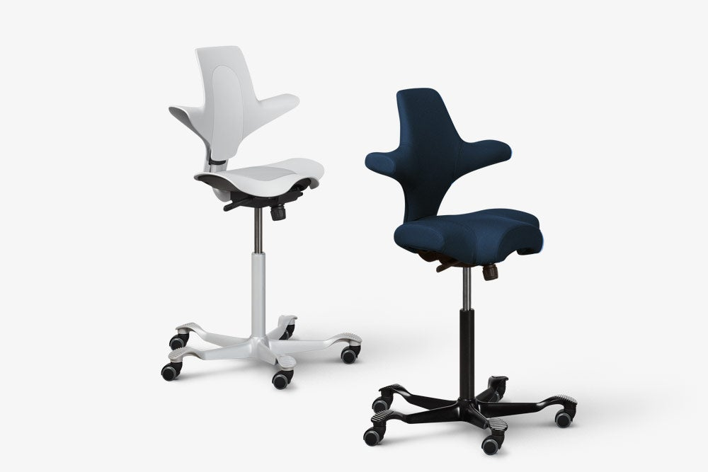 fully capisco and capisco puls by hag with regeneration chair