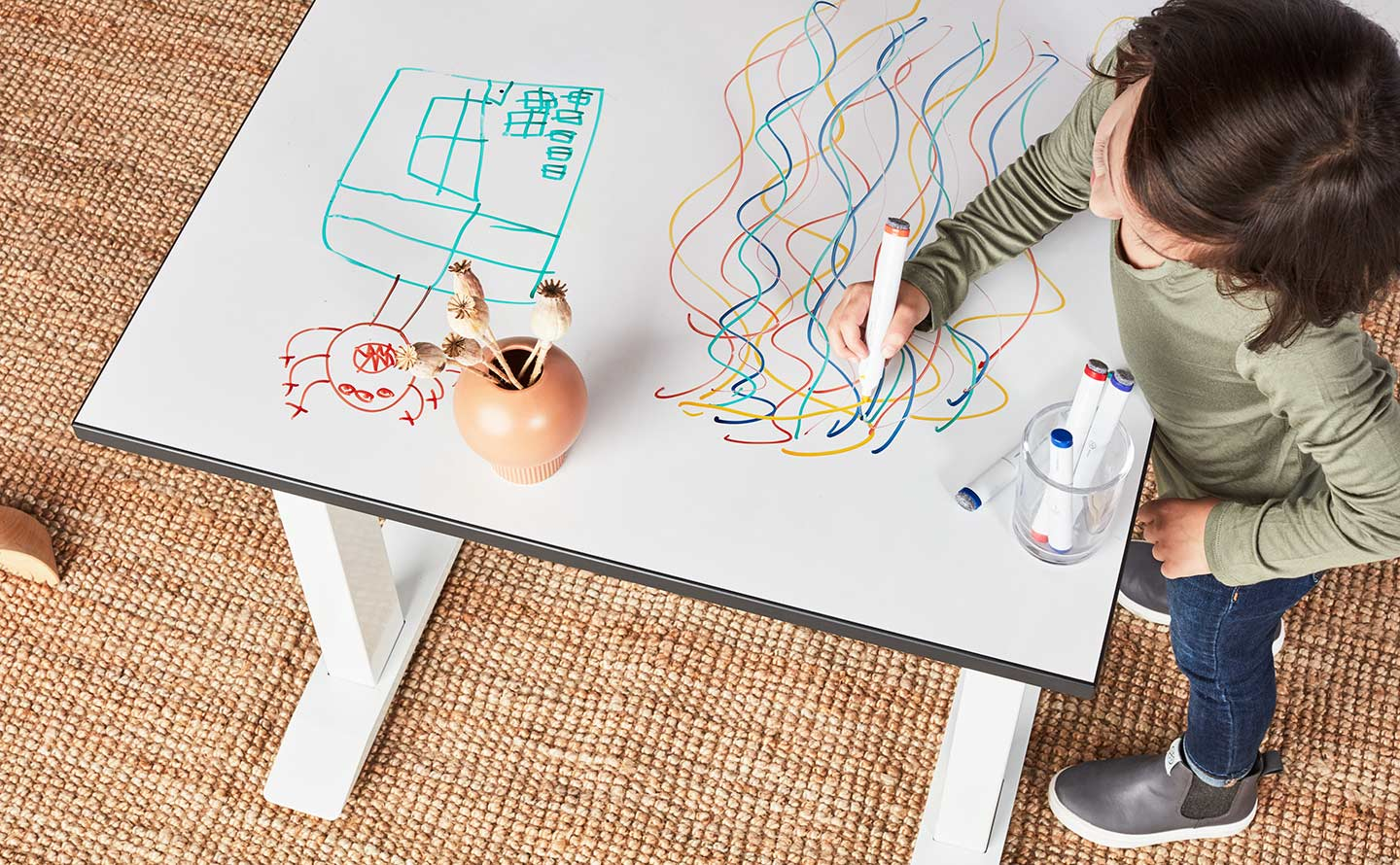 fully jaswig my first standup kids desk kids jaswig and nomad lifestyle photo