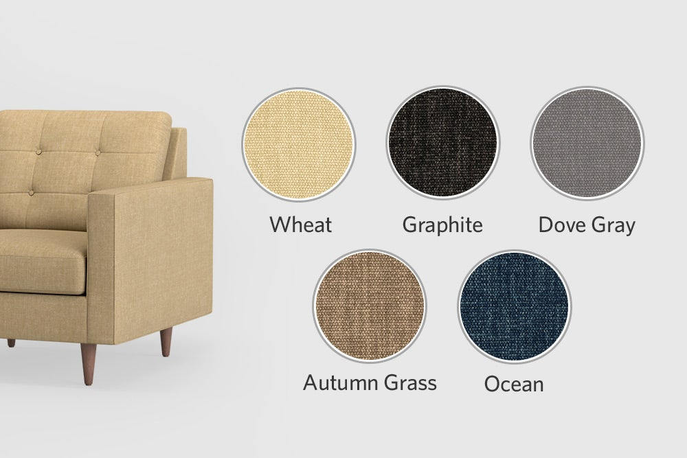 Everglades upholstery colors options