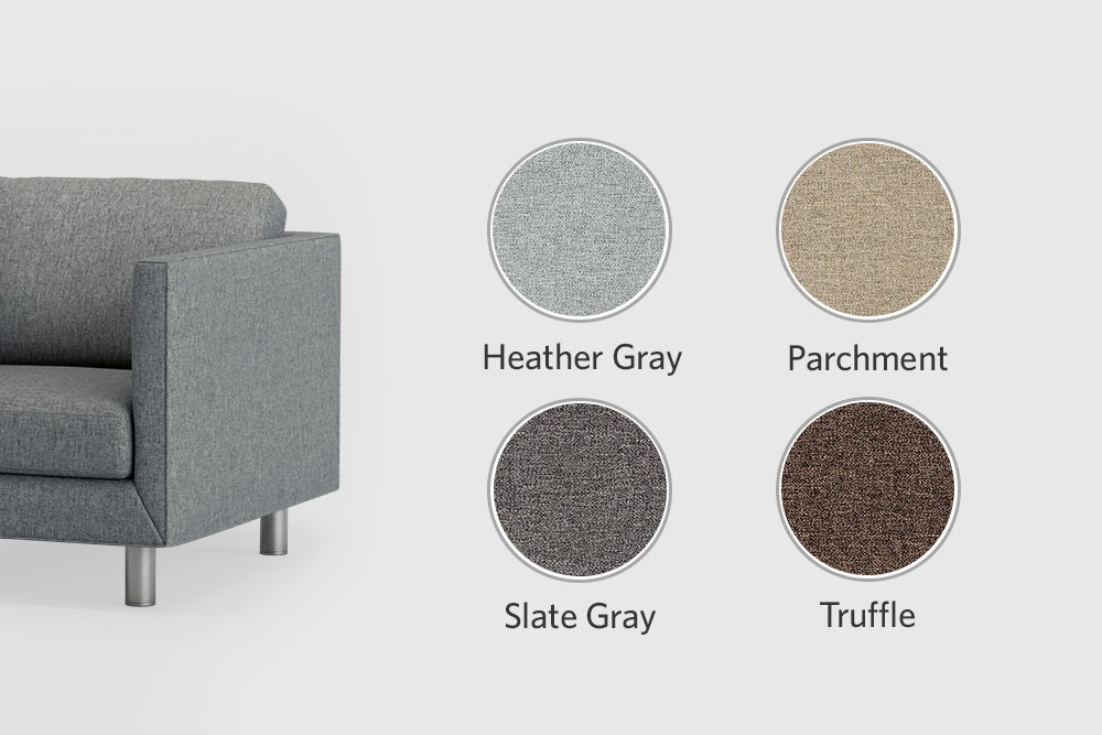 First class upholstery colors options