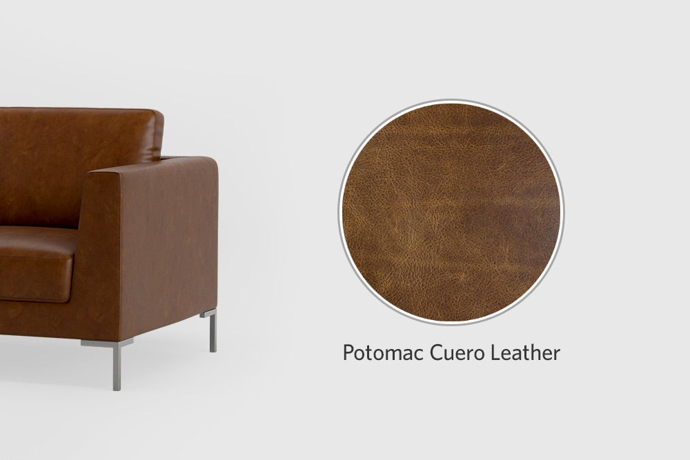 Potomac leather colors options