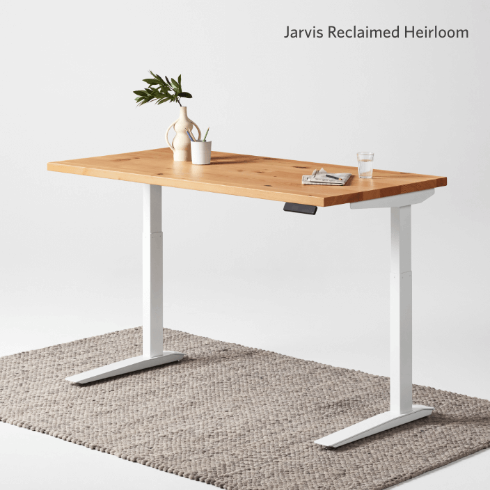 Jarvis Reclaimed Wood Heirloom standing desk