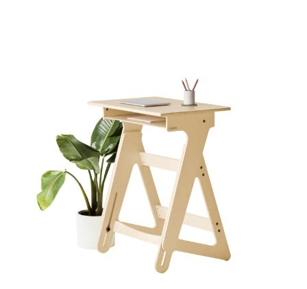 fully jaswig adjustable standing desk with plant