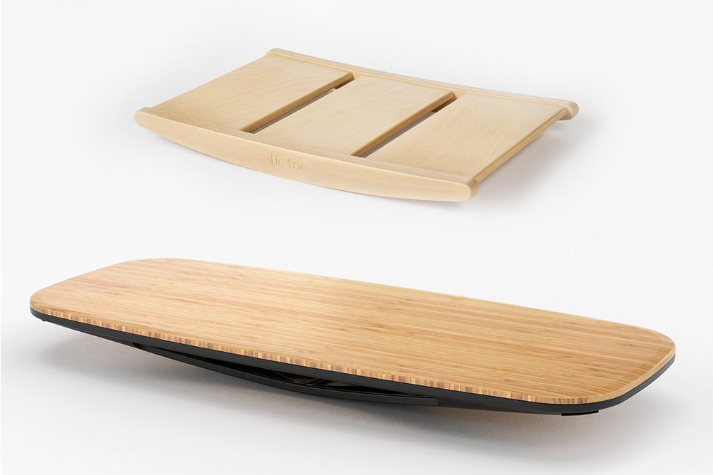 fully tic-toc balance board and floatdeck balance board