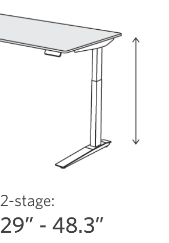 jarvis 2-stage frame range 29 to 48.3 inches