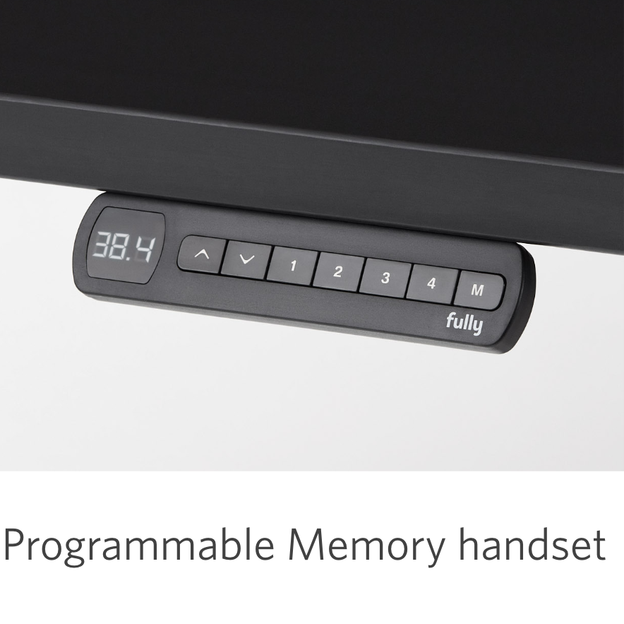fully remi black programmable memory handset